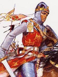 Baudouin-IV-sur-le-champ-de-bataille
